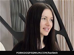 HER restrain - tough rectal and face plow with Sasha Rose