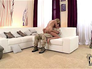 Army folks get handy