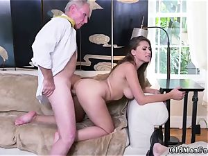 drill his senior mate playfellow s sister Ivy impresses with her giant joy bags and ass