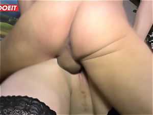 LETSDOEIT - chubby chick Gets penetrated hard On lovemaking tape