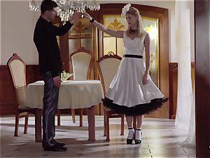 PINUP sex - uber-cute Czech ash-blonde likes sensuous poke