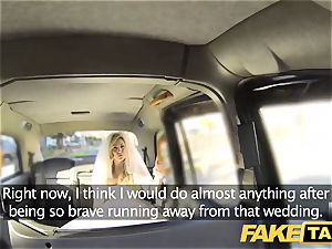 fake cab bride to be runs away from her wedding