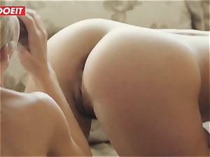 Spanish stunner Julia Roca gets hard-core threeway orgy