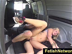 HelplessTeens Mia love button outdoor bondage