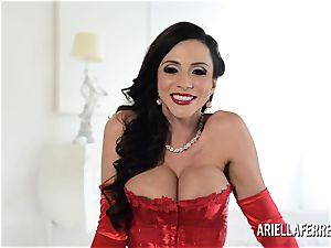 super-steamy enormous titty Ariella Ferrera Interview