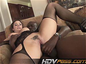 HDVPass bi-racial fucky-fucky act with Chanel Preston.