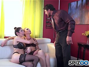 Dava Foxx caught with smoking scorching Jessica Jaymes