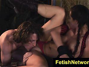 TeenCreeper Aidra Fox bondage & discipline stalker sub