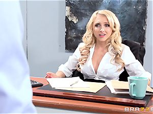 magnificent office honey Alix Lynx takes a 2nd helping