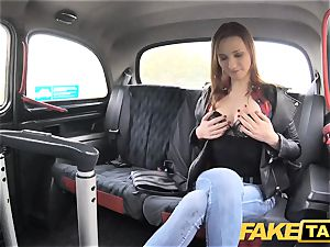 faux cab slender red-haired likes tough hump
