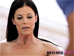 Moms instruct fuckfest - cool mom interchanges spunk with daughter