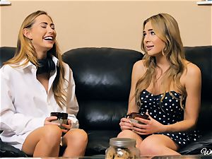 Carter Cruise and Blair Williams love each others super-hot cootchies
