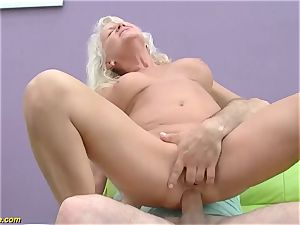 super-sexy 73 years old mother first ample chisel anal plumb