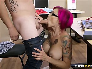 Oh my God! big-titted educator Anna Bell Peaks entices me during lesson
