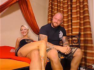 SEXTAPE GERMANY - Alternative German platinum-blonde boinked deep