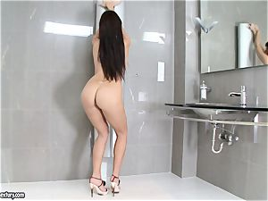 outstanding Aletta Ocean adds some shine to her assets