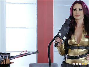 Nikki Benz and Romi Rain getting fucked