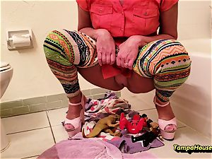 mother Might Be urinated or urinating