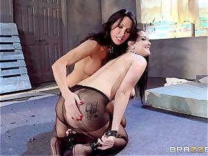 Lezley Zen and Katrina Jade fetish lesbo ravage
