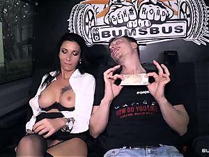 bums Bus – hot German bus screw with muddy mature gal