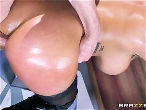 Free anal attraction with big-chested Spanish senorita Bridgette B