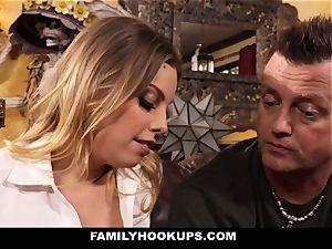 FamilyHookups - torrid light-haired Stepmom humps Her Stepson