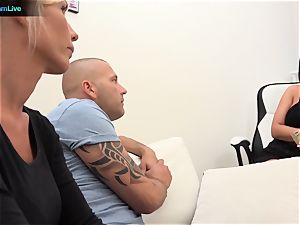 Blanche Summer and Tiffany Rousso loves swingers
