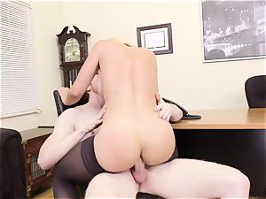 What the plow ... My huge-chested headmistress harasses me at work