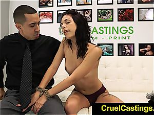 sumptuous Gina Valentina held and dominated
