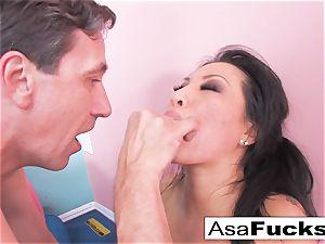 Asa's hardcore buttfuck opening up