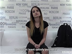 Czech gal casting Dominika