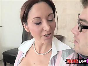 Dillion Harper - My stepmother trains me and my bf to be elderly