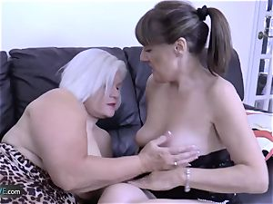 AgedLove mature Lacey starlet hard-core act