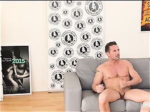 uncovered audition - steamy romp at casting with Czech babe