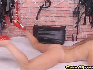steaming magnificent mega-slut babe jack on web cam