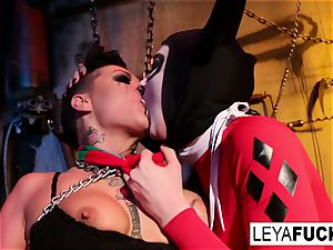 Whorley tantalizes her sub in the Boiler room