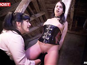LETSDOEIT - brunette Maid loves bdsm harsh torment