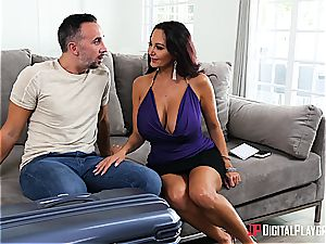 Sleeping wife gets cucked by a jaw-dropping milf