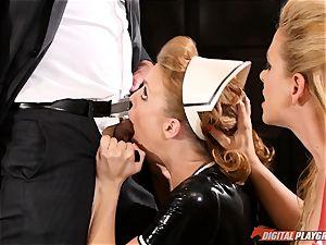 honeypot hitting the naughty hook-up gimp maid Britney Amber