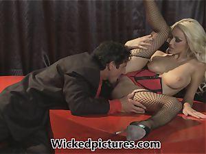 Cupid gets some super hot jizz-shotgun for Breanne Benson