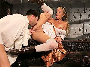 Fairytale honey Samantha Saint gets to shag her prince