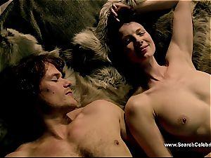 Caitriona Balfe in hot lovemaking vignette from Outlander