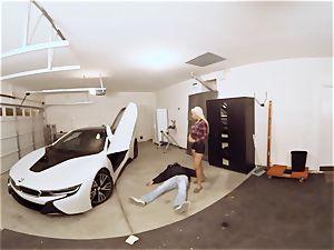VR PORN-Hot milf nail The Car Theif