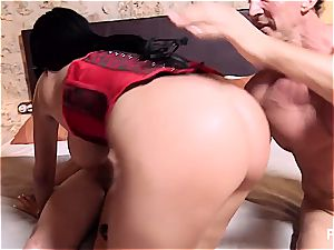 HD double penetration with Anissa