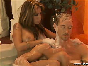 sensual massage For His fatigued lollipop
