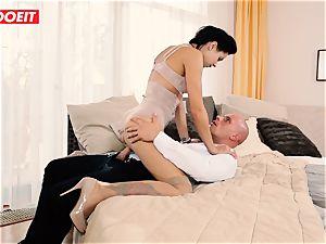 LETSDOEIT - crazy couple Has Retro dream harsh hook-up