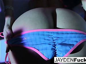 Jayden likes to have sumptuous fun